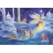 Adventskalender klein Weihnachten mit den  Zwerge  (Dorothea Schmidt)