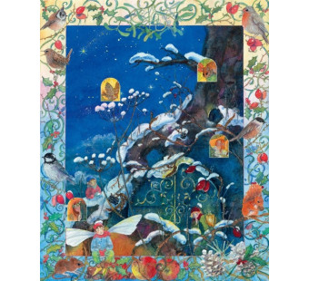 Advent calendar Large D Drescher -Weihnachten in Elfenland