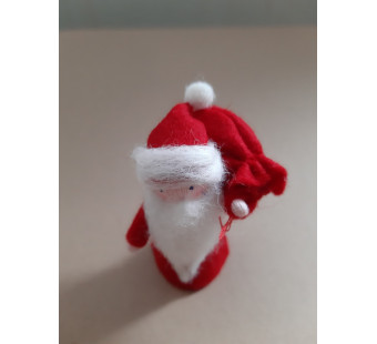 Vilten poppetje Kerstman