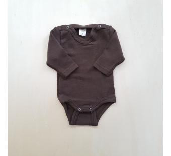 Lilano wool silk body brown