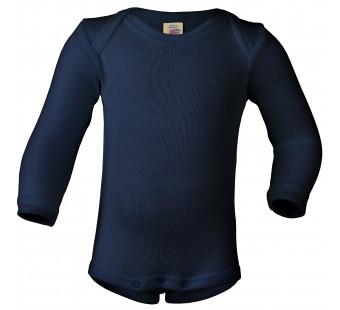 Engel wool silk body navy