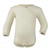 Engel wool silk wrap around body natural