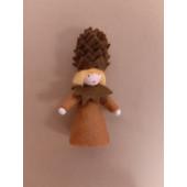 Seasonal doll Pine Cone blond