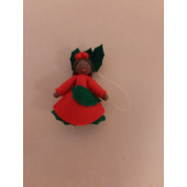 Seasonal doll Ilex girl hanging 2