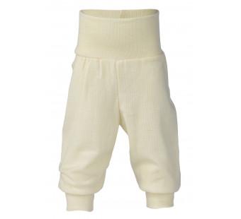 Engel wool silk pants natural