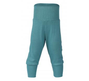 Engel wool silk pants ice blue