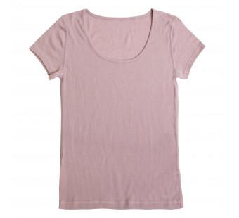 Joha tshirt  merinowol  malve (70604)