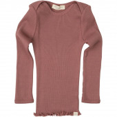 Minimalisma longsleeve 70% silk 30% cotton antigue red