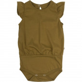 minimalisma cotton round neck volume body amber