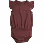 minimalisma cotton round neck volume body dusty rose