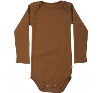 Minimalisma cotton long sleeved body amber