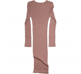 Minimalisma 70% silk and 30% cotton dress  tulip