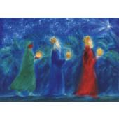 Postkaart Drie koningen Viriot