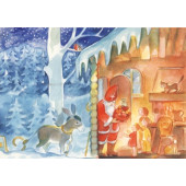 Postal card Santa Claus Viriot