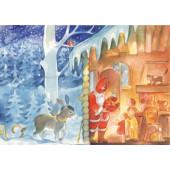 Postkaart Sinterklaas Viriot