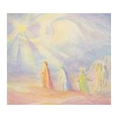 Postkaart Drie heilige Koningen Margarete Hauschka