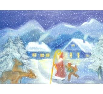 Postkaart Santa Claus D Schmidt