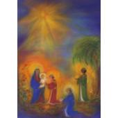 Postkaart drie koningen Kiedaisch