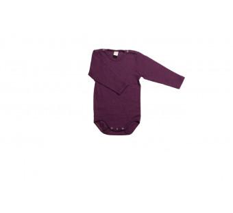 Lilano wool silk body purple