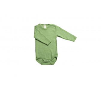 Lilano wool silk body green