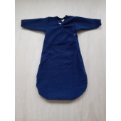 Lilano wool silk sleeping bag navy