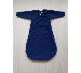 Lilano wool silk sleeping bag navy