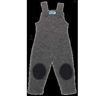 Reiff woolfleece dungarees grey