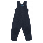Reiff woolfleece dungarees anthracite