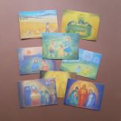 Set van 12 maandkaarten  Elsasser