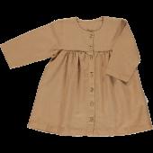 Poudre Organic jurk Aubepine lin brown sugar