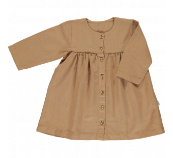 Poudre Organic dress Aubepine lin brown sugar