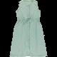 Poudre Organic ladies dress Robe longue magnolia blue surf