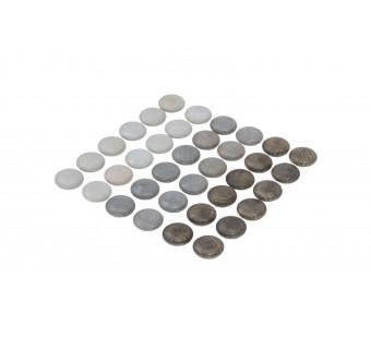 Grapat set mini mandala stenen grijs (20-219)