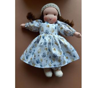 Vilten poppetje waldorf pop Anne (32cm)