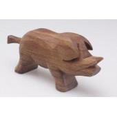 Predan houten wild zwijn