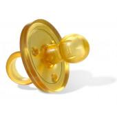 Goldi round natural rubber dummy