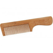 Bamboo comb with steel