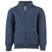 Engel Children's jacket with zipper, fleece