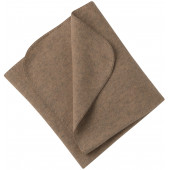 Engel woolfleece blanket walnut