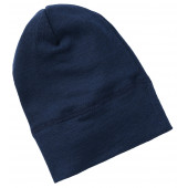 Engel wool silk beany light grey
