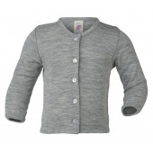 Engel wool silk cardigan light grey