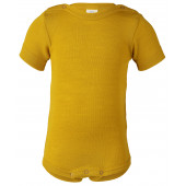 Engel wool silk body saffron