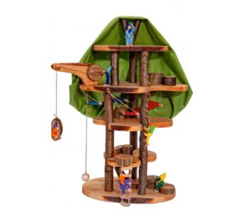 Magic wood boomhuis voor elen