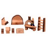 Magic wood meubelset kabouterhuis