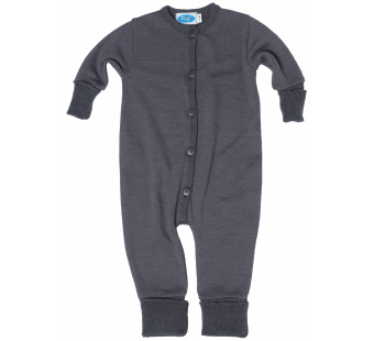 Reiff wool silk jumpsuit  grey