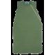 Reiff wol zijde slaapzak mouwloos van badstofstructuur (terry) groen