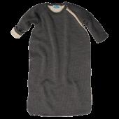 Reiff wool cotton padded sleeping bag grey