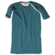 Reiff wool cotton padded sleeping bag carrebean blue