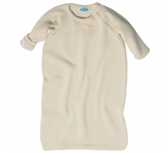 Reiff wool cotton padded sleeping bag natural