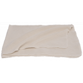 Reiff bourette silk blanket natural